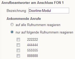 t rsprechanlage in fritz box einrichten fritz box 7170 avm deutschland. Black Bedroom Furniture Sets. Home Design Ideas