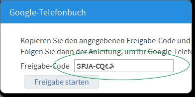 Hilfe FRITZ!Box 7560 - Google Kontakte als Telefonbuch einrichten