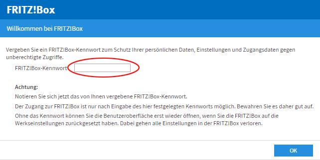FRITZ!Box als DSL-Router einrichten (Standard)  FRITZ!Box 10